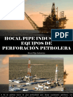 Hocal Pipe Industries - Hocal Pipe Industries, Equipos de Perforación Petrolera