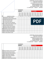 Diagnostico Estilos de Aprendizaje Tareas Registro Bosques de Saloya 2018 2019
