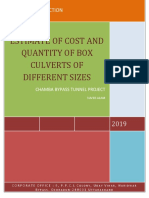 QUANTITY AND COST ESTIMATE OF BOX CULVERTS OF DIFFERENT SIZE.docx