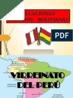 Peru Bolivia Tratados
