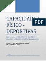 CAPACIDADES FÍSICO-DEPORTIVAS