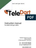 TeleDart Guns Instructions