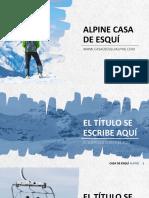 Alpine Casa de Esquí