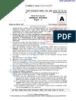 PTS 2020 Test 4  Forum IAS
