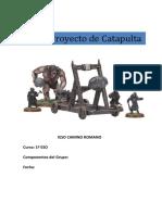 PROYECTO DE CATAPULTA