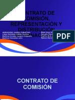 CONTRATO DE COMISIÓN, REPRESENTACIÓN Y DISTRIBUCIÓN INTERNACIONAL