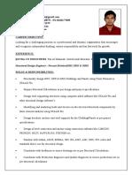 Resume(Chandra Mohan)