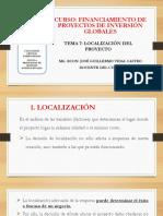 Tema 7. Localizacion