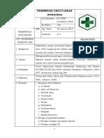 7.6.3.1 Sop Penggunaan Pemberian Obat Dan Cairan Intravena Ok