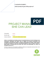 JP Project Manager-She Can Lead