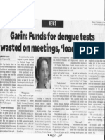 Philippine Daily Inquirer, Sept. 13, 2019, Garin Funds for dengue tests wasted on meetings load company.pdf