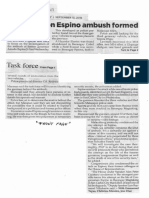 Philippine Star, Sept. 13, 2019, Task force on Espino ambush formed.pdf