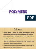 Polymers Introduction PPT