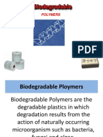 Biodegradable & Conducting Polymers