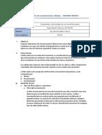 Laboratorio de Com. Ópticas - 1er Informe Previo 2019-2