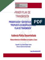 PLAN DE TRANSMISION