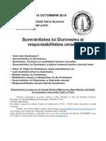 Anunt Conferinta Bucuresti 2019