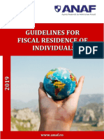 guidelines for fiscal residence