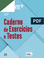 Caderno de Exercícios e Testes, Expoente 10