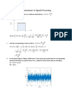 Measurement & Signal Processing