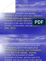 History Nursing