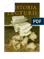 Alberto Manguel - Istoria Lecturii