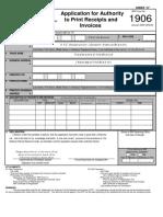 BIR Form 1906_Application for ATP