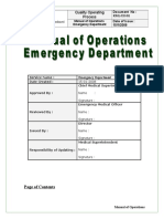 143715457 Emergency Department Policy