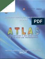 Atlas Climatico y de Gr Honduras Dic 2012