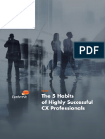 Confirmit the 5 Habits of Highly Successful CX Professionals eBook