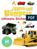 Digger & dumper Sticker Book