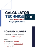 2 Complex Mode Caltech