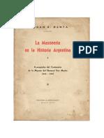 La Masonería en la Historia Argentina.pdf