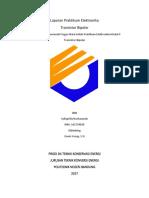 Cover.laporan Praktikum Elektronika