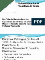 Aula 7 -Alterações Da Retina Periferica
