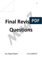 Theory Final RV Questionss