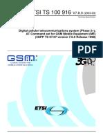 ETSI at Commands