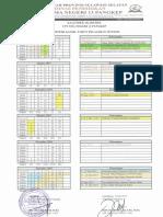Kalender Akademik SMA Negeri 13 Pangkep