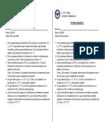 Actividad - ESTADO GASEOSO - Química - 5to - 3 Bim