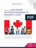 What Makes Canada the Perfect Destination for Education or Jobs