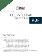 Course Map Update Msc 2019