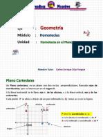Geo 50.50.3 Homotecia en El Plano Cartesiano