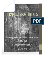 Thermal Comfort Explained