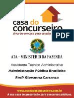 Apostila Ata Administracao Publica Brasileira Giovanna Carranza