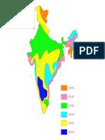 India Wind Zone-model