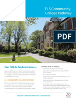 2018 ELS Community College Pathway Flyer