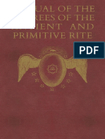Yarker - Manual of the Degrees of the Antient and Primitive Rite