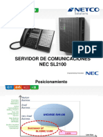 NEC SL2100 Presentacion