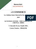Namma Kalvi 12th Commerce Chapter 1 to 6 Study Material Em