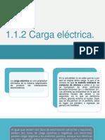 1.1.2 Carga Eléctrica 1.1.3 Unidades de Carga Eléctrica en El S.I.
